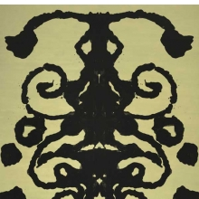 <p>Andy Warhol (American, 1928&ndash;1987). <em>Rorschach</em>, 1984. Acrylic on canvas, 158 &times; 110 in. (401 &times; 279.4 cm). The Baltimore Museum of Art: Purchase with funds provided by Laura R. Burrows-Jackson, Baltimore; and partial gift of The Andy Warhol Foundation for the Visual Arts, Inc. &copy; 2010 The Andy Warhol Foundation for the Visual Arts/Artists Rights Society (ARS), New York. Photo: Mitro Hood</p>
