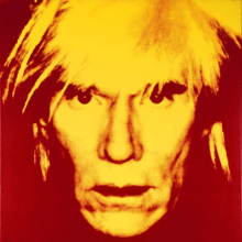 Andy Warhol (American, 1928–1987). Self-Portrait, 1986. Acrylic and silkscreen ink on linen, 40 × 40 in. (101.6 × 101.6 cm). Mugrabi Collection. © 2010 The Andy Warhol Foundation for the Visual Arts, Inc./Artists Rights Society (ARS), New York