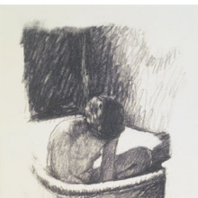 <p>Pierre Bonnard (French, 1867–1947). <i>The Bath, Second Version</i>, ca. 1925. Lithograph on laid China paper, Sheet: 14<sup>3</sup>⁄<sub>8</sub> x 10<sup>5</sup>⁄<sub>8</sub> in. (36.5 &#215; 27 cm). Brooklyn Museum, Designated Purchase Fund, 74.35. © artist or artist's estate</p>