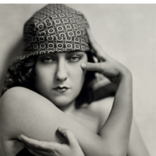 <p>Nickolas Muray (American, 1892&ndash;1965). <em>Gloria Swanson</em>, circa 1925. Gelatin silver print, 12<sup>3</sup>&frasl;<sub>4</sub> x 9<sup>3</sup>&frasl;<sub>8</sub> in. (32.4 &times; 23.8 cm). George Eastman House, International Museum of Photography and Film, Rochester, New York, Gift of Mrs. Nickolas Muray. &copy; Estate of Nickolas Muray</p>