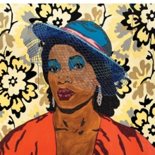 <p>Mickalene Thomas (American, b. 1971). <i>Qusuquzah, une tr&egrave;s belle n&eacute;gresse #2</i>, 2011&ndash;12. Rhinestones, acrylic, and oil on wood panel. Collection of Juwan Howard, Miami</p>