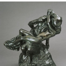 <p>Auguste Rodin (French, 1840&ndash;1917). <i>Youth Triumphant (La Jeunesse triomphante)</i>, 1896; cast date unknown (after 1898). Bronze, 20<sup>1</sup>&frasl;<sub>2</sub> x 18 &times; 12<sup>3</sup>&frasl;<sub>4</sub> in. (52.1 &times; 45.7 &times; 32.4 cm). Brooklyn Museum, Gift of the Iris and B. Gerald Cantor Foundation, 84.210.2</p>