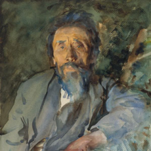 <p>John Singer Sargent (American, 1856–1925). <i>A Tramp</i>, circa 1904–6. Translucent watercolor and touches of opaque watercolor, 20 × 14 in. (50.8 × 35.6 cm). Brooklyn Museum, Purchased by Special Subscription, 09.810</p>