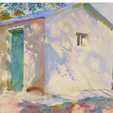 <p>John Singer Sargent (American, 1856–1925). <i>Corfu: Lights and Shadows</i>, 1909. Translucent and opaque watercolor with graphite underdrawing, 15<sup>7</sup>⁄<sub>8</sub> x 20<sup>7</sup>⁄<sub>8</sub> in. (40.3 &#215; 53 cm). Museum of Fine Arts, Boston, The Hayden Collection—Charles Henry Hayden Fund. Photograph © 2013 Museum of Fine Arts, Boston</p>