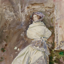 <p>John Singer Sargent (American, 1856–1925). <i>The Cashmere Shawl</i>, circa 1911. Translucent watercolor and touches of opaque watercolor and wax resist with graphite underdrawing, 19<sup>15</sup>⁄<sub>16</sub> x 14 in. (50.7 &#215; 35.5 cm). Museum of Fine Arts, Boston, The Hayden Collection—Charles Henry Hayden Fund. Photograph © 2013 Museum of Fine Arts, Boston</p>