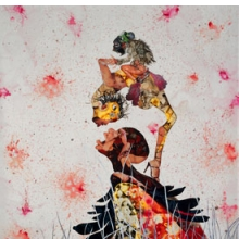 <p>Wangechi Mutu (Kenyan, b. 1972). <i>Misguided Little Unforgivable Hierarchies</i>, 2005. Ink, acrylic, collage, contact paper on Mylar, 81 &#215; 52 inches (205.7 &#215; 132.1 cm). San Francisco Museum of Modern Art, Purchase through a gift of the Buddy Taub Foundation, Jill and Dennis Roach, directors, 2005.184. Image courtesy of Susanne Vielmetter Los Angeles Projects. © Wangechi Mutu. (Photo: Joshua White)</p>