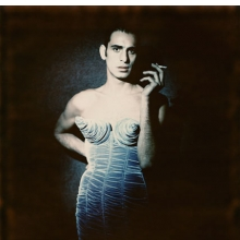 "Paolo Roversi (Italian, born 1947). Tanel Bedrossiantz, 1992. Digital print, 15 × 12 in. (38.3 × 30.8 cm). Jean Paul Gaultier's ""Barbès"" women's ready-to-wear fall-winter collection of 1984–85. © Paolo Roversi"