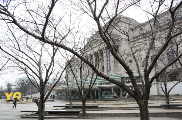 <p>Brooklyn Museum exterior view</p>