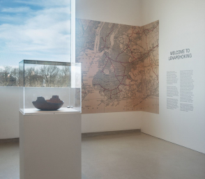 <p>Installation view of the American Art introductory gallery</p>