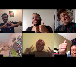 <p>Teen Council virtual meeting</p>