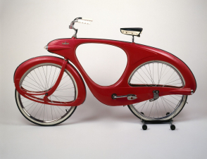 <p>Spacelander Bicycle, Prototype designed 1946; Manufactured 1960</p>