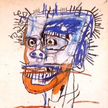 <p><i>Untitled</i>, 1982. Oil paintstick on paper. Collection of Leo Malca</p>
