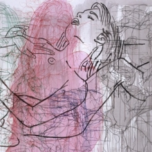 <p>Ghada Amer (American, born Egypt, 1963).<i> And the Beast</i>, 2004. Acrylic, embroidery, and gel medium on canvas. Collection of the artist, courtesy of Gagosian Gallery</p>