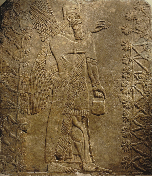 brooklyn museum assyrian art