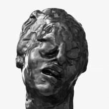 <p>Auguste Rodin (French, 1840–1917). <em>Head of the Tragic Muse</em>, 1895; cast 1979. Cast by Georges Rudier Fondeur, Paris. Bronze, 11<sup>5</sup>/<sub>8</sub> x 7<sup>1</sup>/<sub>4</sub> x 9<sup>7</sup>/<sub>8</sub> in. (29.5 x 18.4 x 25.1 cm). Brooklyn Museum; Gift of the Iris and B. Gerald Cantor Foundation, 84.75.12</p>