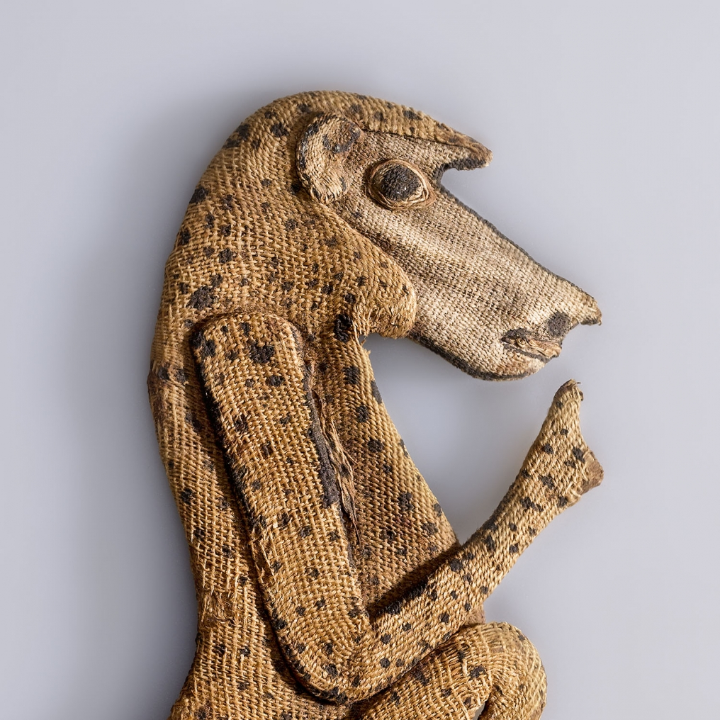 Baboon Appliqué. Possibly from Saqqara, Egypt