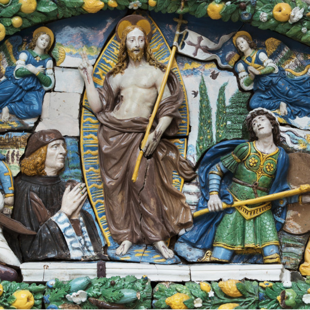 Giovanni della Robbia: The Resurrection of Christ