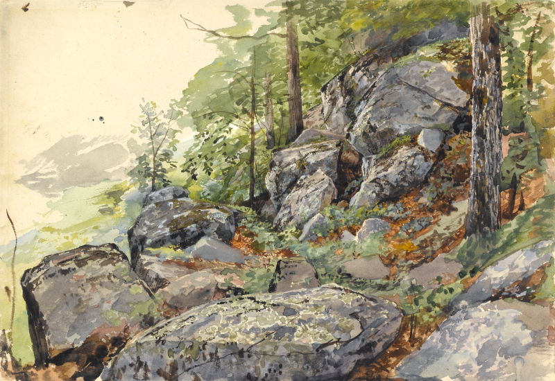 William Trost Richards: Experiments in Watercolor