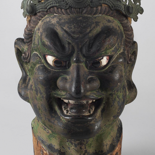 Japan: Head of a Guardian