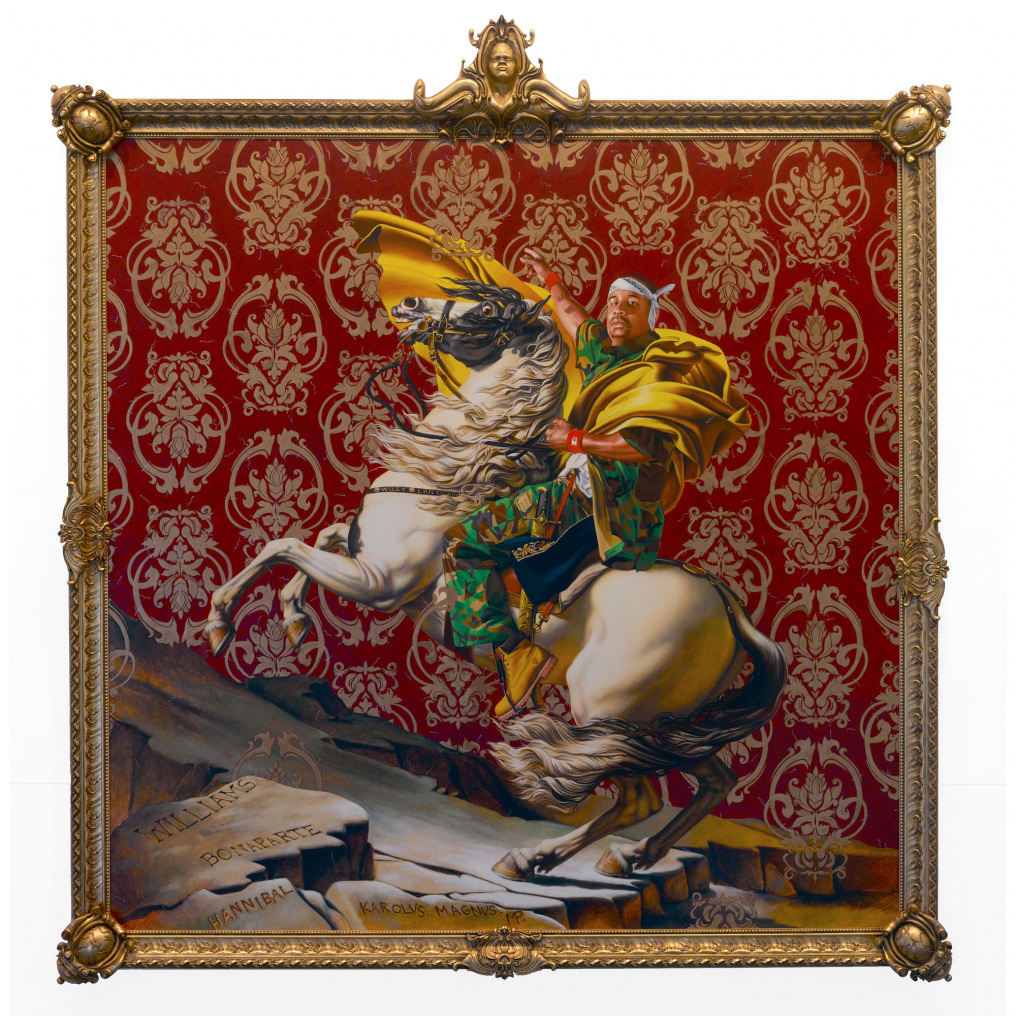 Kehinde Wiley: Napoleon Leading the Army over the Alps