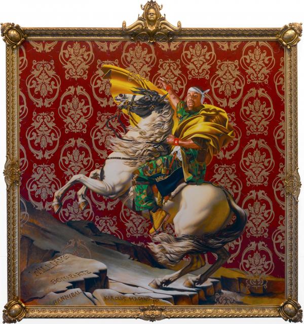 Visiones de Napoleón cruzando los Alpes