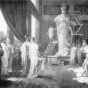 <p>Unknown artist after Hector Leroux. <em>Pericles and Aspasia in the Studio of Phidias</em>. From <em>Beacon Lights of History</em>, by John Lord (New York: Fords, Howard &amp; Hulbert, 1883)</p>
