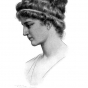 <p>Gasparo. <em>Hypatia</em>, n.d. From <em>Little Journeys [to the Homes of Great Teachers]</em>, by Elbert Hubbard (East Aurora, New York: The Roycrofters, 1908). (Image: Hypatia World Web site)</p>