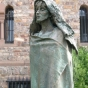 <p><em>Statue of Hildegard</em>. Abbey Church of St. Hildegard, Germany. (Image: Abbey Church of St. Hildegard, Germany)</p>