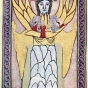 <p><em>Wisdom (or Sophia, Mother Wisdom)</em>. Manuscript illumination from <em>Scivias (Know the Ways)</em> by Hildegard of Bingen (Disibodenberg: 1151)</p>