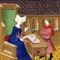 <p>Master of the Bedford trend. <em>Christine de Pisan Instructs Her Son, Jean de Castel</em>, 1410&ndash;11. Paris</p>