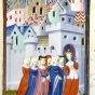 <p>Master of the Cit&eacute; des Dames and Workshop. <em>Justice Enters the City of Ladies</em> (detail), 1410&ndash;11. British Library, London. (Image: British Library, London)</p>