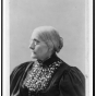 <p>Mrs. L. Condon. <em>Susan B. Anthony</em>, circa 1890 and 1906. Library of Congress, Prints and Photographs Division, Washington, D.C., LC-USZ62-111423</p>