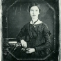 <p>Unknown artist. <em>Emily Dickinson</em>. Amherst College Library, Massachusetts</p>