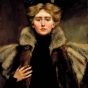 <p>Alice Pike Barney. <em>Natalie in Fur Cape</em>, 1905. Smithsonian Institution, Smithsonian American Art Museum, Washington, D.C. Gift of Laura Dreyfus Barney and Natalie Clifford Barney in Memory of their Mother, Alice Pike Barney, 1951.14.74</p>