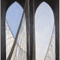 <p>Georgia O&rsquo;Keeffe. <em>Brooklyn Bridge</em>, 1949. Brooklyn Museum, Bequest of Mary Childs Draper, 77.11.</p>