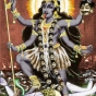 <p>Unknown artist. <em>Kali Goddess, colored from a black and white image found on the Internet</em>, 2005.</p>