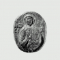 <p><em>Medallion with Saint Sophia</em>. Venetian, first half of 13th century. Museum of Fine Arts, Boston. Samuel Putnam Avery Fund, 1940, 40.727. (Image: Jpeg. &copy; 2007 Museum of Fine Arts, Boston)</p>