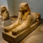 <p><em>Sphinx of Hatshepsut</em>. Egypt. New Kingdom, Dynasty 18, reign of Hatshepsut, circa 1473&ndash;1458 <small>B.C.E.</small> The Metropolitan Museum of Art, New York, Rogers Fund, 1931, 31.3.166. (Image: The Metropolitan Museum of Art, New York)</p>