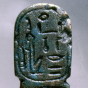 <p><em>Amulet in the Form of a Cartouche Hatshepsut</em>. Egypt, provenance not known. New Kingdom, Dynasty 18, circa 1478&ndash;1458 <small>B.C.E. </small>Brooklyn Museum, Charles Edwin Wilbour Fund, 37.1216E.</p>