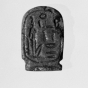<p><em>Amulet in the Form of a Cartouche Hatshepsut</em>. Egypt, provenance not known. New Kingdom, Dynasty 18, circa 1478&ndash;1458<small> B.C.E. </small>Brooklyn Museum, Charles Edwin Wilbour Fund, 37.1216E</p>