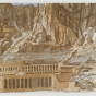 <p>Philip Pearlstein. <em>Temple of Hatshepsut</em>, 1979. Brooklyn Museum, Gift of Gerald Farber, 80.207.2</p>