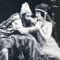 <p><em>Blanche Sweet as Judith and Henry B. Walthall as Holofernes</em>. Still from J<em>udith of Bethulia</em>, 1914, by D.W. Griffith. American Mutoscope and Biograph Co.</p>