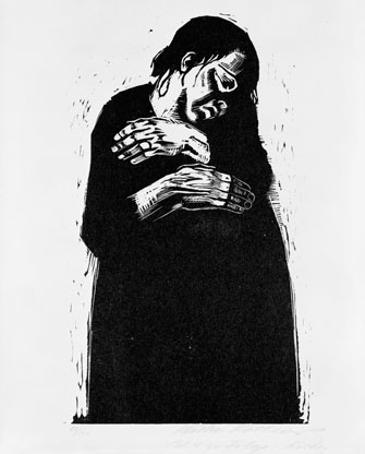 Kathe Kollwitz: The Widow I