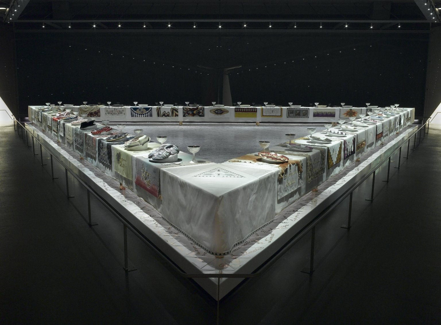 The Dinner Party by Judy Chicago