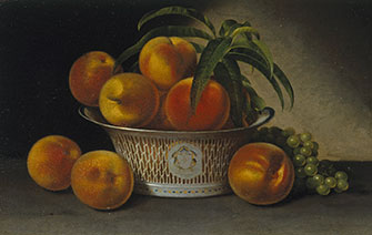 Raphaelle Peale: Still Life with Peaches