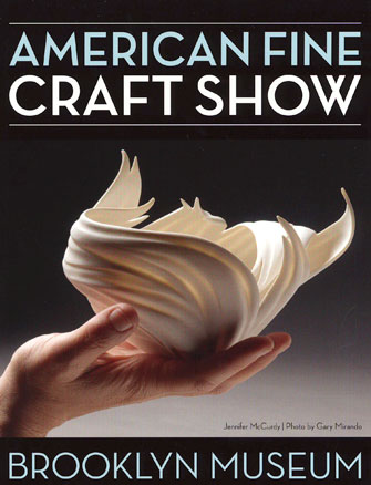 American Fine Craft Show Brooklyn Flier