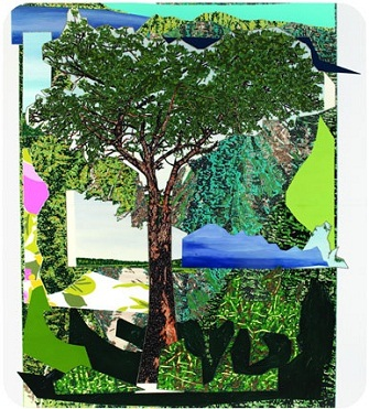 Mickalene Thomas: Landscape with Tree