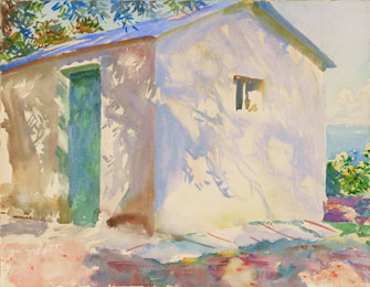 John Singer Sargent: Corfu: Lights and Shadows