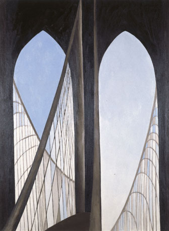 Georgia O'Keeffe: Brooklyn Bridge