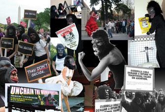 <p>Guerrilla Girls</p>